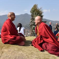Mingyur Rinpoche e Matthieu Ricard