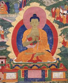 Mingyur_Shakyamuni-Buddha-detail_Rubin-Museum-of-Art-acc.-P1996.12.6-230×279