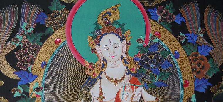 760pxDEEP-COLBALT-BLUE-WHITE-TARA-GODDESS-TIBETAN-BUDDHIST-THANGKA-PAINTING-3