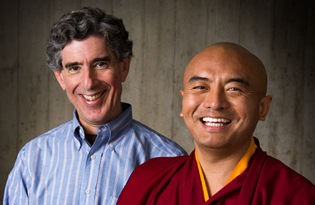 Mingyur Rinpoche and Richard Davidson